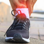 sprains strains ankle pain
